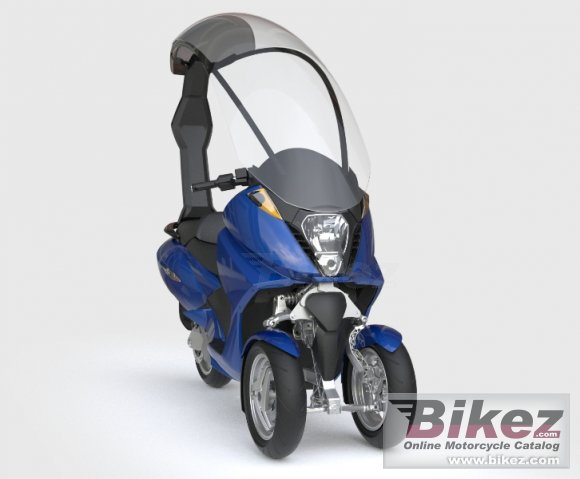 2008 Vectrix Electric 3-Wheeler
