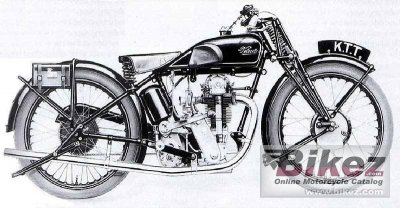 1950 Velocette KTT