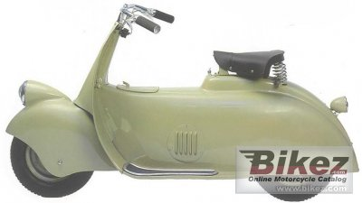 1943 Vespa MP5 Paperino