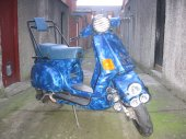 1991 Vespa Cosa 200 GS photo