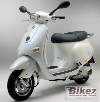 2005 Vespa ET4 125 photo