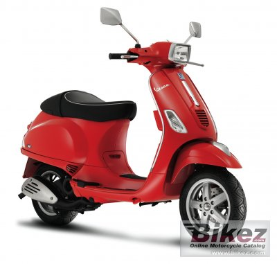 2008 Vespa S 50 specifications and pictures