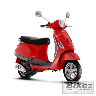 Scooter Motorcycle Vespa LX50 2T 2010