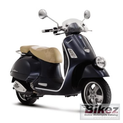 2009 Vespa GT Navy 125 photo