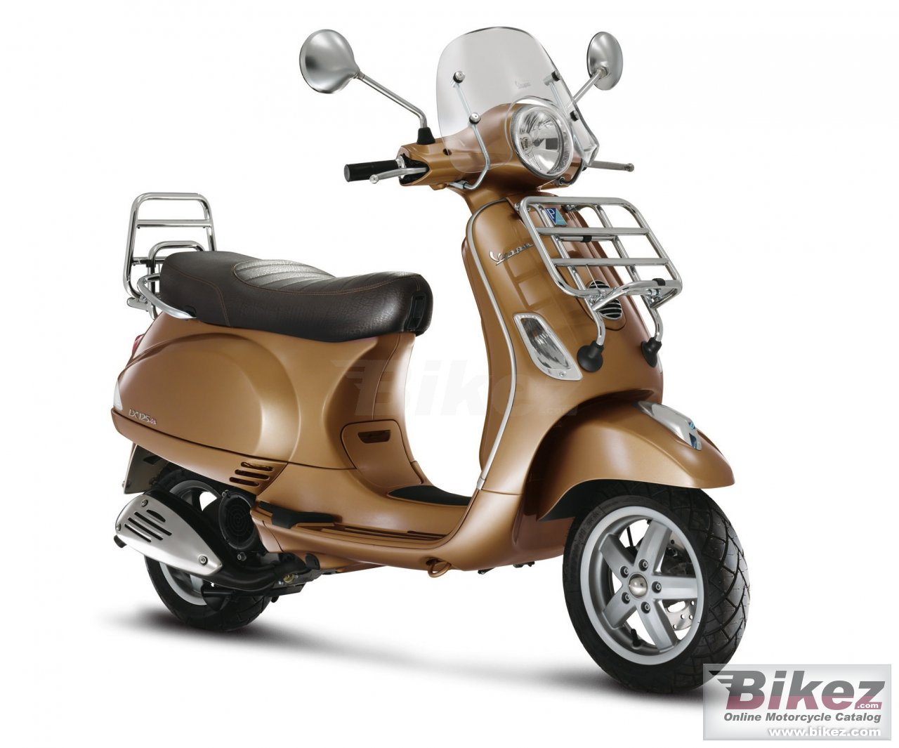 Big Vespa lx 125 i.e. picture and wallpaper from Bikez.com