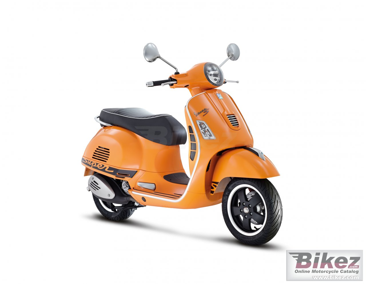 Big Vespa gts 300 super picture and wallpaper from Bikez.com