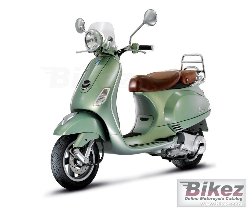 Big Vespa lxv 150 i.e. picture and wallpaper from Bikez.com