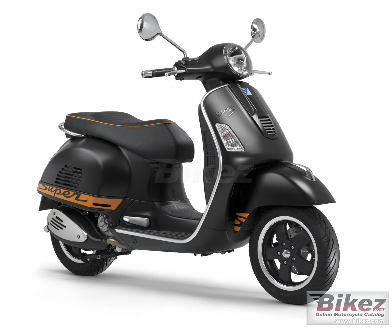 Big Vespa gts 300 super sport se picture and wallpaper from Bikez.com