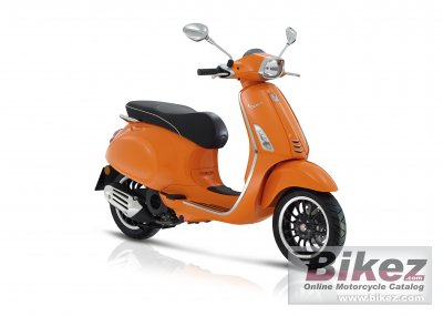 2017 vespa sprint 125 specifications and pictures. Black Bedroom Furniture Sets. Home Design Ideas