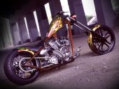 2010 West Coast Choppers El Diablo Rigid photo