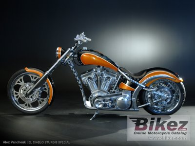 2010 West Coast Choppers El Diablo Sturgis Special photo