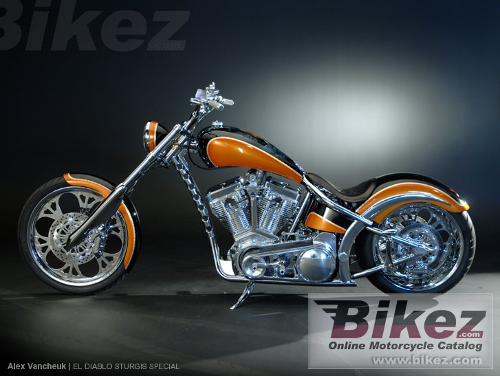 West Coast Choppers El Diablo Sturgis Special