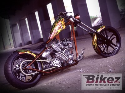 2010 West Coast Choppers El Diablo Rigid
