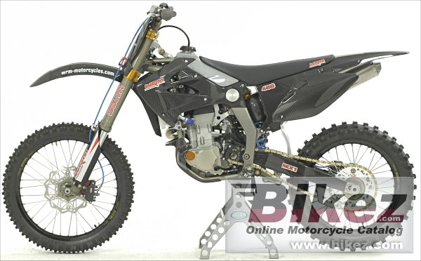Big WRM 450 mx1 cross picture and wallpaper from Bikez.com