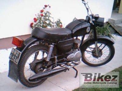 1983 WSK 125 M06B3, engine model S01 Z3A Lux