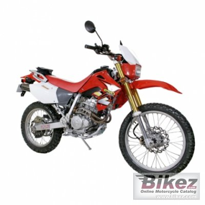 2010 Xingyue XY 250GY Dirt Bike photo