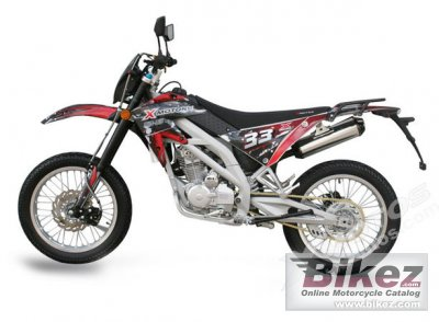 2010 Xmotos X33 MD125 specifications and pictures