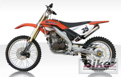 2011 Xmotos XZP250W
