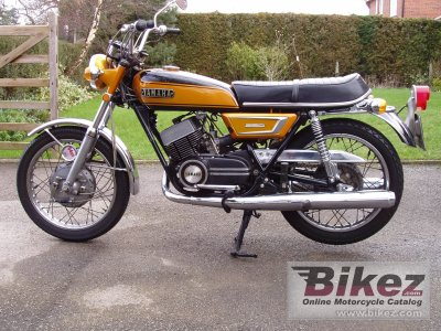 1971 Yamaha DS 7 photo