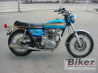 1972 Yamaha XS 2 E photo