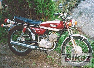 1972 Yamaha AS 3