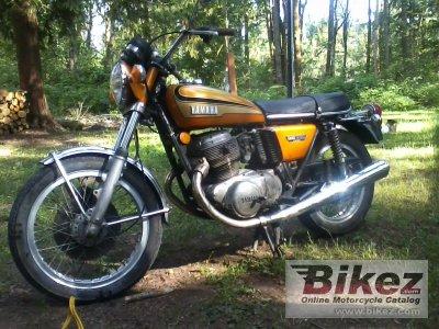 1972 Yamaha TX 750