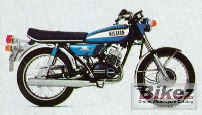 1973 Yamaha RD 125 photo