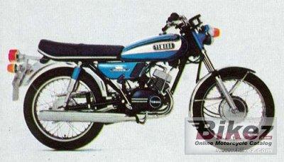1973 Yamaha RD 125