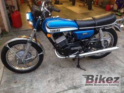 1973 Yamaha RD 250 (6-speed)