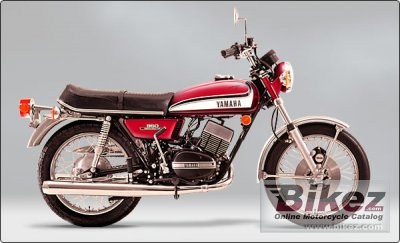 1973 Yamaha RD 350 (6-speed) specifications and pictures