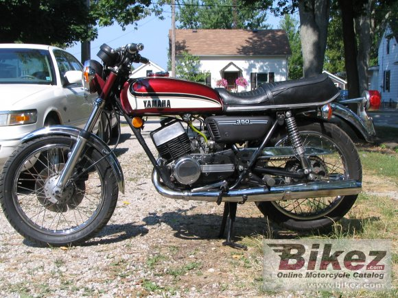 1974 Yamaha RD 350 (6-speed)