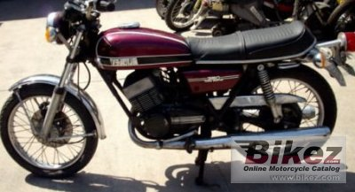 1974 Yamaha RD 350 (5-speed) photo