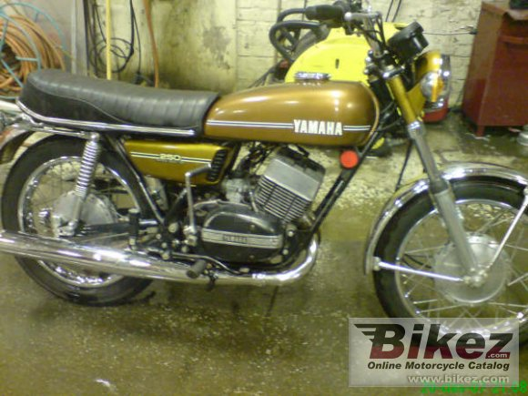 1974 Yamaha RD 250 (6-speed)