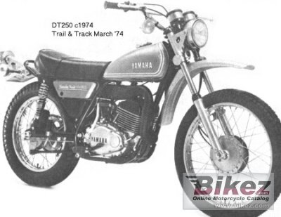 1974 yamaha dt 250 specifications and pictures 1974 yamaha dt 250