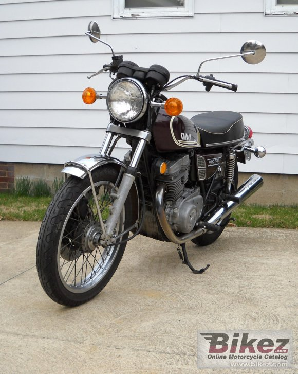 1975 Yamaha XS500B