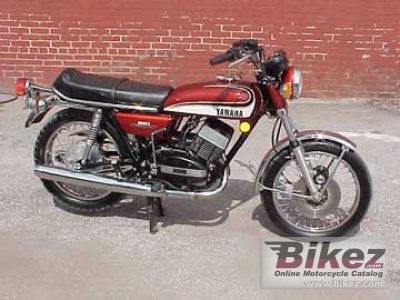 1975 Yamaha RD 350 photo
