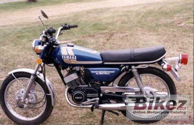 1975 Yamaha RD 200 photo