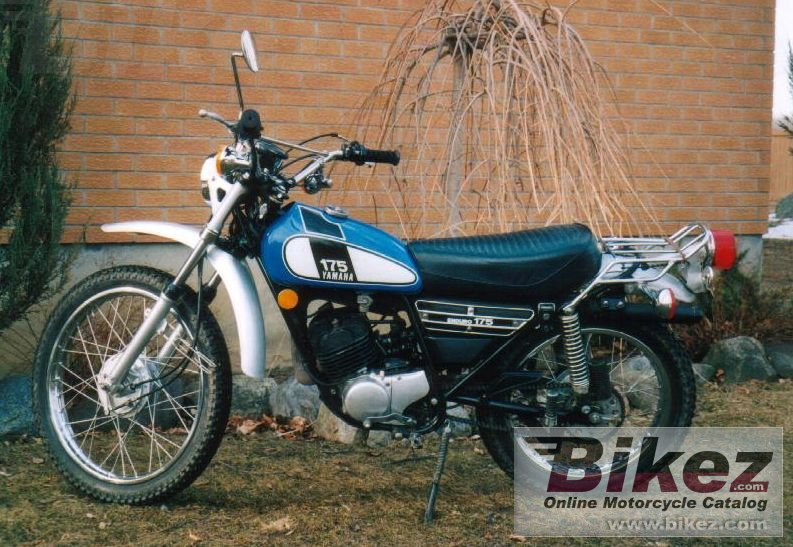 Big Jean Villeneuve dt 175 picture and wallpaper from Bikez.com