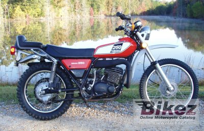 1975 Yamaha Dt 250 Specifications And Pictures