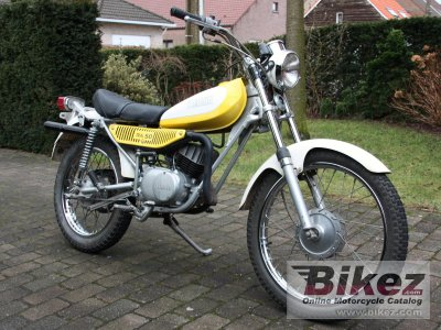1976 yamaha ty 50 specifications and pictures. Black Bedroom Furniture Sets. Home Design Ideas