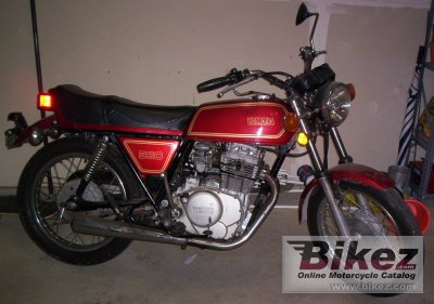 1977 Yamaha XS 360 photo
