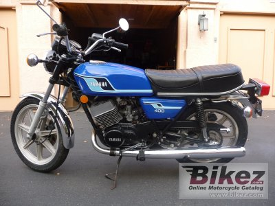 1977 Yamaha RD 400 C photo