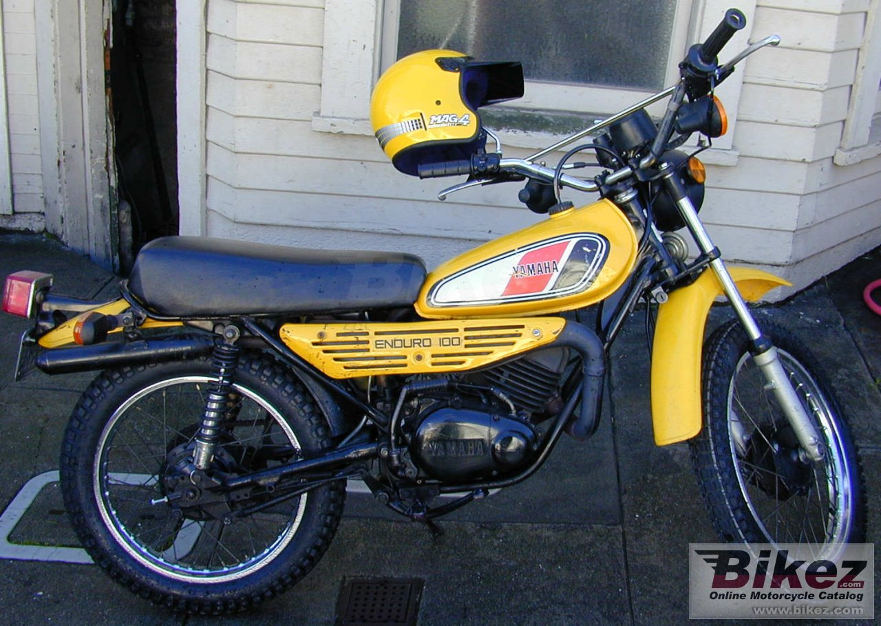 1977 Yamaha Dt 125 E Specifications And Pictures 1960s Honda 50cc Bike