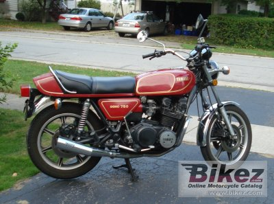 1978 Yamaha XS 750 E photo