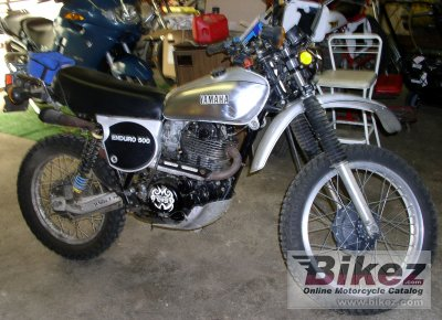 1978 Yamaha XT 500 photo