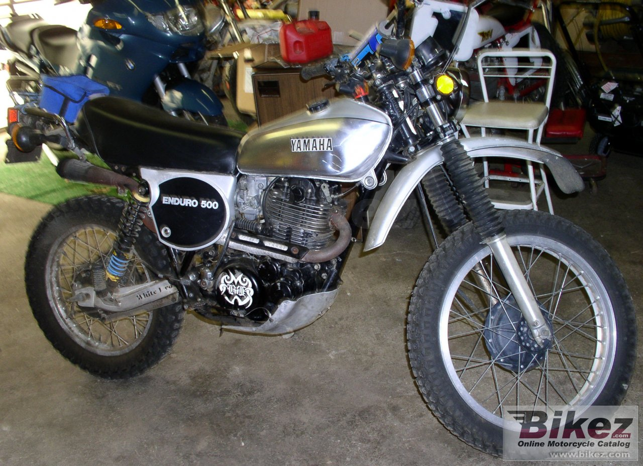 Big nymous user. xt 500 picture and wallpaper from Bikez.com