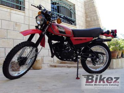 1978 Yamaha Dt 175 Mx Specifications And Pictures