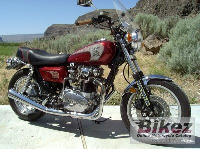 1979 Yamaha XS 650 photo