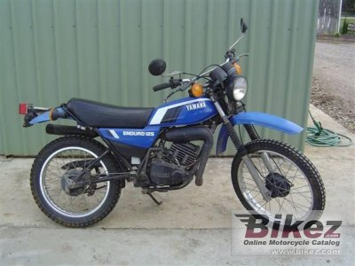 1979 yamaha dt 125 e specifications and pictures. Black Bedroom Furniture Sets. Home Design Ideas