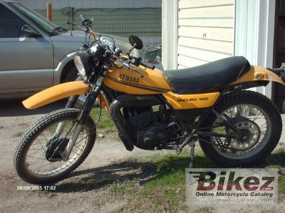 1979 yamaha dt 250 mx specifications and pictures for Yamaha dt 250 for sale